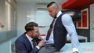 Gay raunch fuck Klein kerr fuck his co-worker diuring a meeting