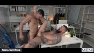 Naked gay men with hairy chests - Mencom - hunk boss deepdicks assistant - paddy obrian troy daniels