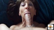 Swallowing cum tubegalore Sexy granny swallows cum after doggystyle banging