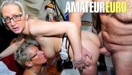 Big tits omas Xxx omas - two horny german gilfs seduce and fuck their client