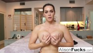 Viewer submitted nude Busty alison tyler helps the viewer cum