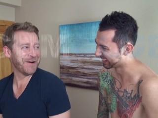sperm fucked raw! – straight guy nails gay dude hard & bareback