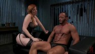 Fetish couple - Hot couple explore femdom punishment with lauren phillips dillon diaz