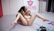 Evolved bendable touch vibrator - Lily lane vs maya kendrick pussy eating in dominant wrestling sex fight