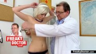 Adults gyno - Chesty euro babe lola fauve gyno exam of her pussy
