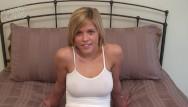 Huge boob facial cumshots 18 year old blonde teen with big boobs has hot sex
