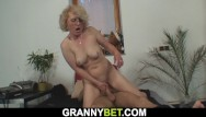 Sexy 60 grannies - Lonely 60 years hot blonde sucks and rides strangers shaft