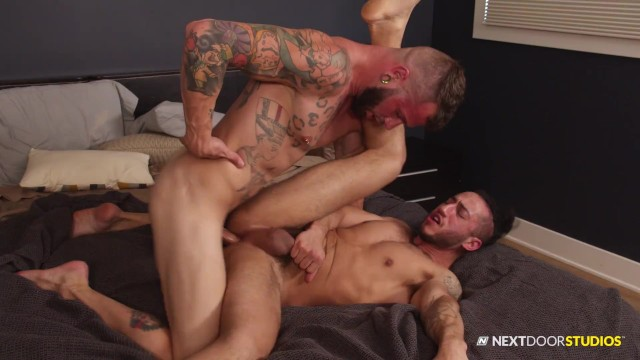 NextDoorRaw - Johnny Hill's Interracial Bareback Hookup