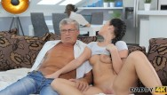 Sexy dirty old man - Daddy4k. brilliant sexy brunette erica decides to have sex