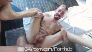 Gay handjobs and blowjobs - Gayroom massage handjob masterpiece at its finest