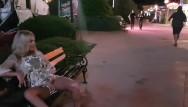Adult peeing - Crazy girl masturbate and pee on public street-public exhibitionist