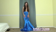Mermaids fuck Glamorous mermaid gown dress striptease burlesque style - lelu love