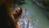 Sexual harasment Orgasmic wet fuck in the rain rain,jungle,river amplifies sexual senses
