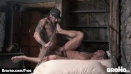 Gay asseaters - Bromo - athletic snowboarder takes big dick bareback