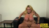 Tied blindfolded fucked - Tied up busty milf sub