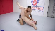 Nude blonde patch - Riley reyes nude wrestling fight banged in the ring by oliver davis