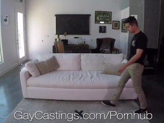 GayCastings Casting Agent Fucks Tight Naive Booty