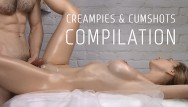 Jerkygirls cumshot compilation - Compilation of creampies and cumshots vol. 4