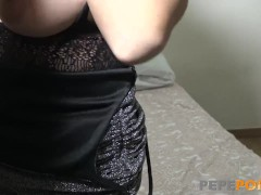 Hot Momma Loves Being Surrounded By Young Dicks!!