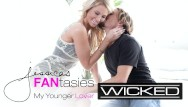 Lingerie catalog pictures Wicked - jessica drake with her younger lover