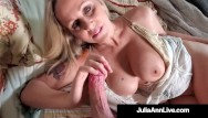 Tits - Busty beautiful world famous milf julia ann gets pussy mega dick drilled