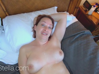 REAL SEX COUPLE E08: Cowgirl MILF Love Fingers In Her Tight Ass