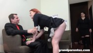 Index of parent directory blowjob Redhead maid dusts old couple