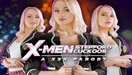Latin parodies porn Fucking naughty marilyn sugar in xmen stepford cuckoos a xxx parody