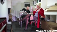 Cnfm cocks Cnfm german boss bosses her staff around for hot sex