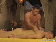 Pussy Massage For His Cock-squeezing Ass
