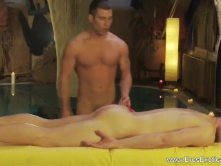 pussy massage for his tight ass