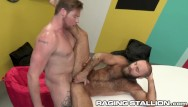 Naked oiled gay bears - Ragingstallion - ryan stone tops bear in the game room