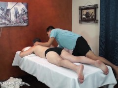 Hot Daddy And Asian Twink Argie Bareback