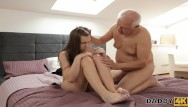 Old young blowjob - Daddy4k. man has troubles with computer but not with his big cock