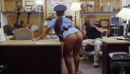 Fucked up xxx vids Xxxpawn - big booty latin police woman tries to sell her gun, ends up selli