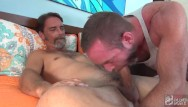 Big big gay cock Hot silver daddy hunks have a raw fuck session.