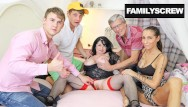 Family fucking videos - Uncle brings gf to meet the family