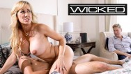 Big female tit pictures Wicked - brandi loves husband watches her fuck another man