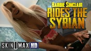 Dvd label adult max Hot blonde milf barbi sinclair slams a sybian