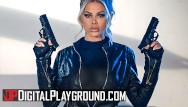 Digital aging facial enhancement Digital playground - elite assassin jessa rhodes collects a large pay day