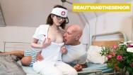 Teen violence and peer pressure Nurse takes old mans blood pressure