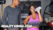 Trainer giving blowjob to dolphin Reality kings - aryana adin horny as crazy fucks her trainer