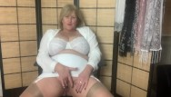 Mom free flims mature Hot mature step mom in girdle and stockings fingers her wet pussy