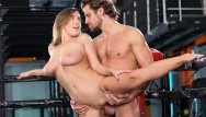 Cock ring michigan Curvy josephine jackson bounces her boobs on big cock trainer in the ring
