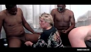 Dicks chili blog Dick starved blonde amateur giving bjs in a row in interracial five some