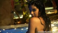 Nude models saltwater fishing Memorable sensuality in water from asia