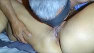 Cumshotted pussy My husband went crazy. he eats his own cum from my pussy.