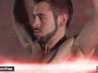 Mencom – Hunks Dante Colle & Michael DelRay try the sybian sex machine