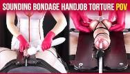 Bdsm torture free pic Cock sounding bondage from your nurse edging handjob torture pov era