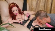Mature lesians Horny hot housewife shanda fay gets her mature muff stuffed by husband